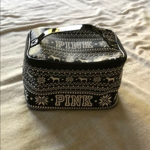 Pink Toiletry/Cosmetic Bag